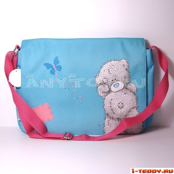 сумка школьная через плечо тедди.